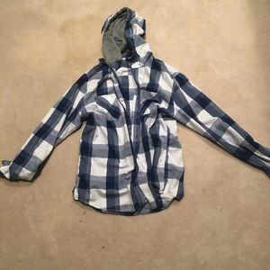 American Rag Hoodie Flannel